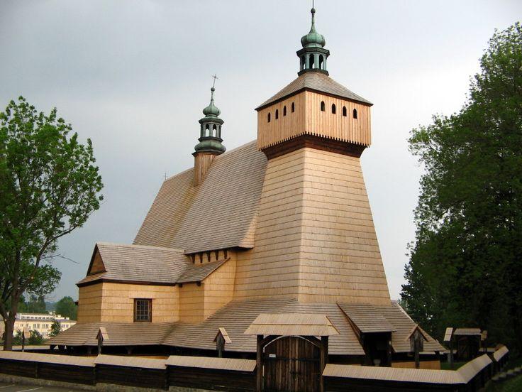 Haczow - kosciol - Beskiden – Wikipedia – Drozdzik