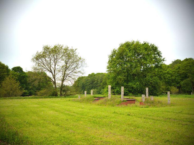 Kunstwerk archeologische vindplaats Varsen, ontwerp Mark Kino, Dienst Landelijk Gebied