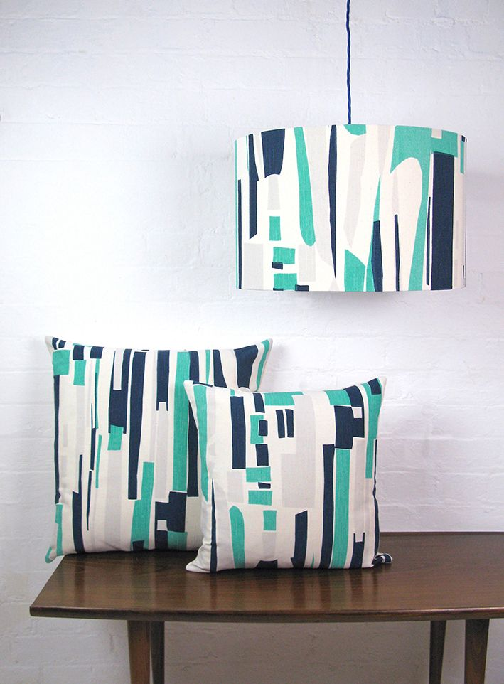 Tamasyn Gambell | Topsy Turvy Cushions + Lampshade | www.tamasyngambell.com