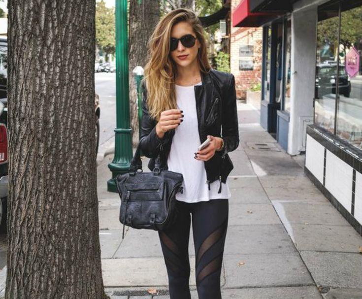 6 κομψοί τρόποι για να φορέσεις το μαύρο κολάν σου - JoyTV