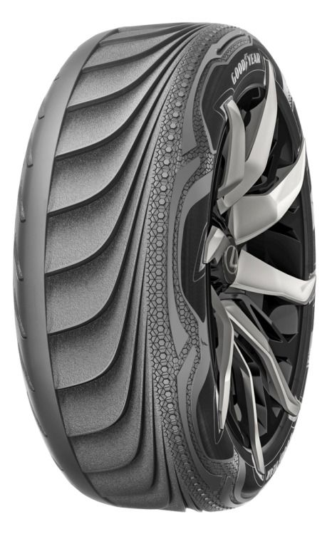 BH-03   electricity-generating tire concept by Goodyear