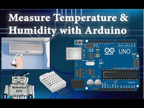 Arduino tutorial 5# how to Measure humidity & Temperature with DHT22/DHT11 in Arduino. - Robotica DIY