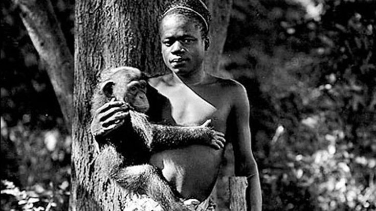 """100 years ago, on March 20, 1916, Ota Benga took a gun and fired a bullet into his own heart, ending the short and tragic life of the """"missing link"""" from Africa."""