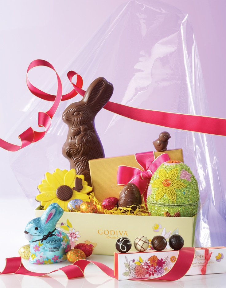 14 best discover easter treasures images on pinterest chocolate perfect basket godiva negle Image collections