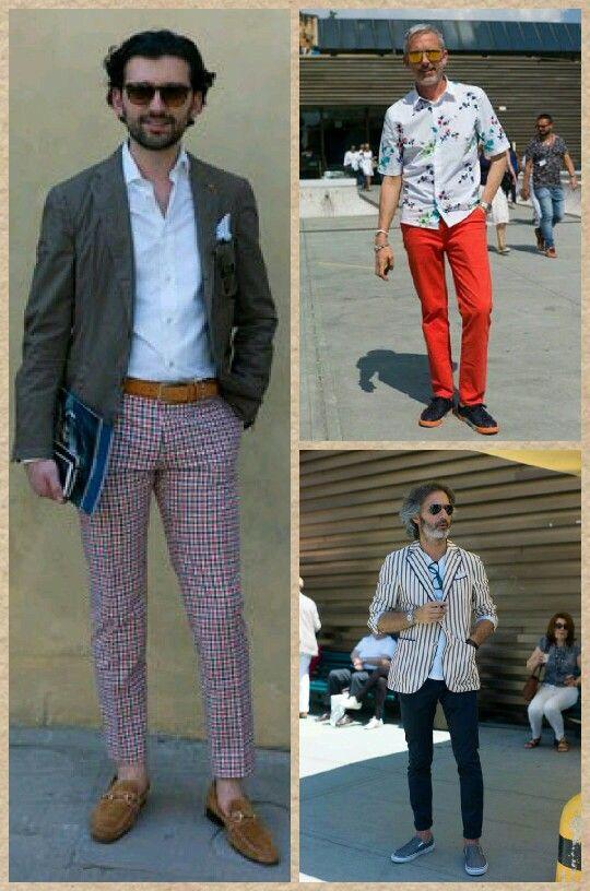 Pitti Uomo sokak stili oldukça renkli ve hoş :) #pittiuomo #streetstyle #men #fashion #sokakstili #stil #erkek #moda #gomlekplus #time2shirt