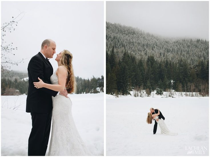 Winter Wedding Photography in Whistler @Nita Lake Lodge| Lachlan and Emily Photography