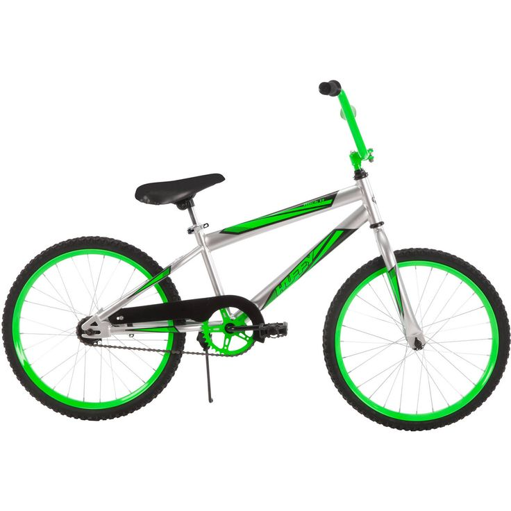 "Seller: Products Universal, Category: Road Bicycles, Price: $79.99, Title: 20"" Huffy Boys Rock It Bike, Silver Steel Frame Rims safe durable New"