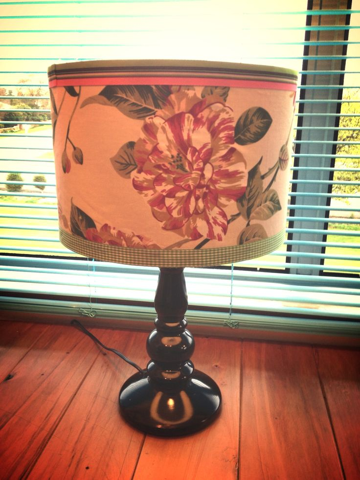 Upcycled lamp I am pretty proud of as cost me $0