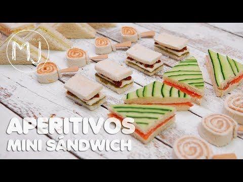 6 APERITIVOS RÁPIDOS PARA FIN DE AÑO | Canapés fríos con pan de molde - YouTube