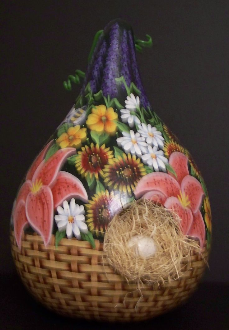 350 best gourd crafts images on pinterest gourd art for Where to buy gourds for crafts