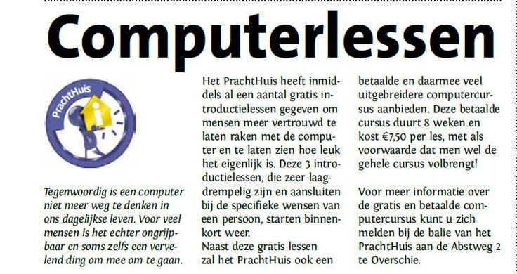 computerlessen