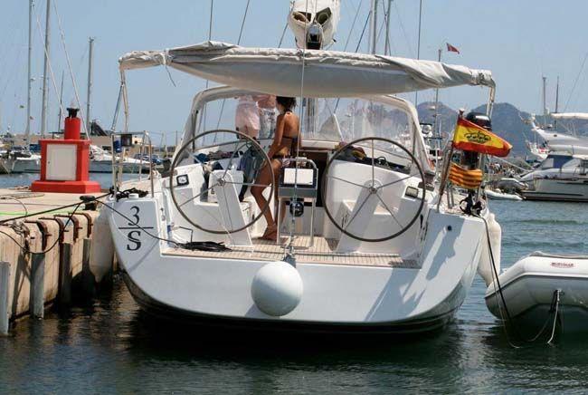 Packs Apartamentos + Velero en Ibiza Alquiler velero hanse 430 ibiza 3