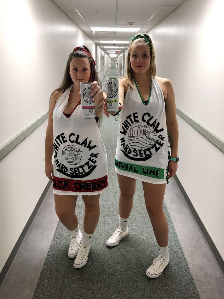 White Claw Seltzer DIY Costume