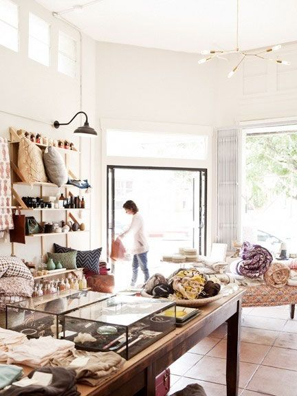 shelves! Kindred Boutique Interior Inspiration/glass cases for displaying jewelry .