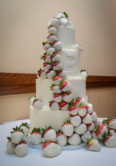 white wedding cake with strawberry filling white chocolate strawberry wedding cake the new mrs 27424
