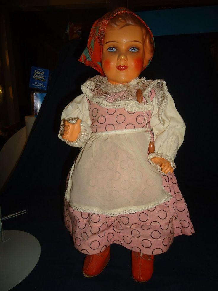 "18"" Celluloid Doll - 2"