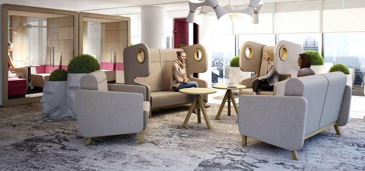 Packman Lounge Seating