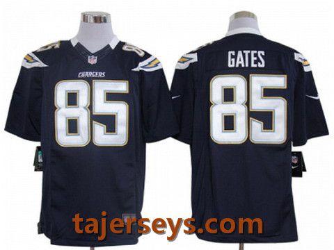 ... Nike San Diego Chargers 85 Antonio Gates Blue Game Jerseys Price22 ... bada5dfba