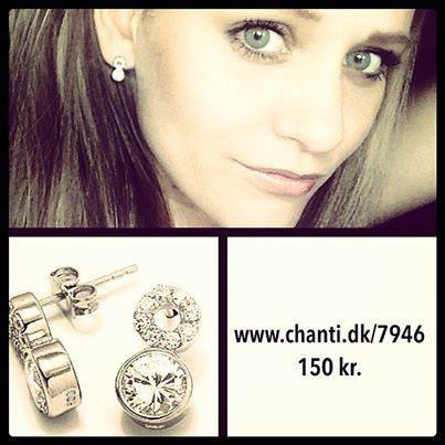 Anna Due from danish Paradise Hotel with CHANTI jewellery #chanti #annadue #jewelry #jewellery #smykker #paradisehotel #chantijewellery