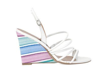 Białe sandały #Kazar