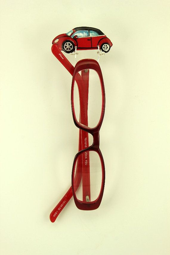 Custom Car Magnetic Eyeglass Holder Made to by LauraWilsonGallery
