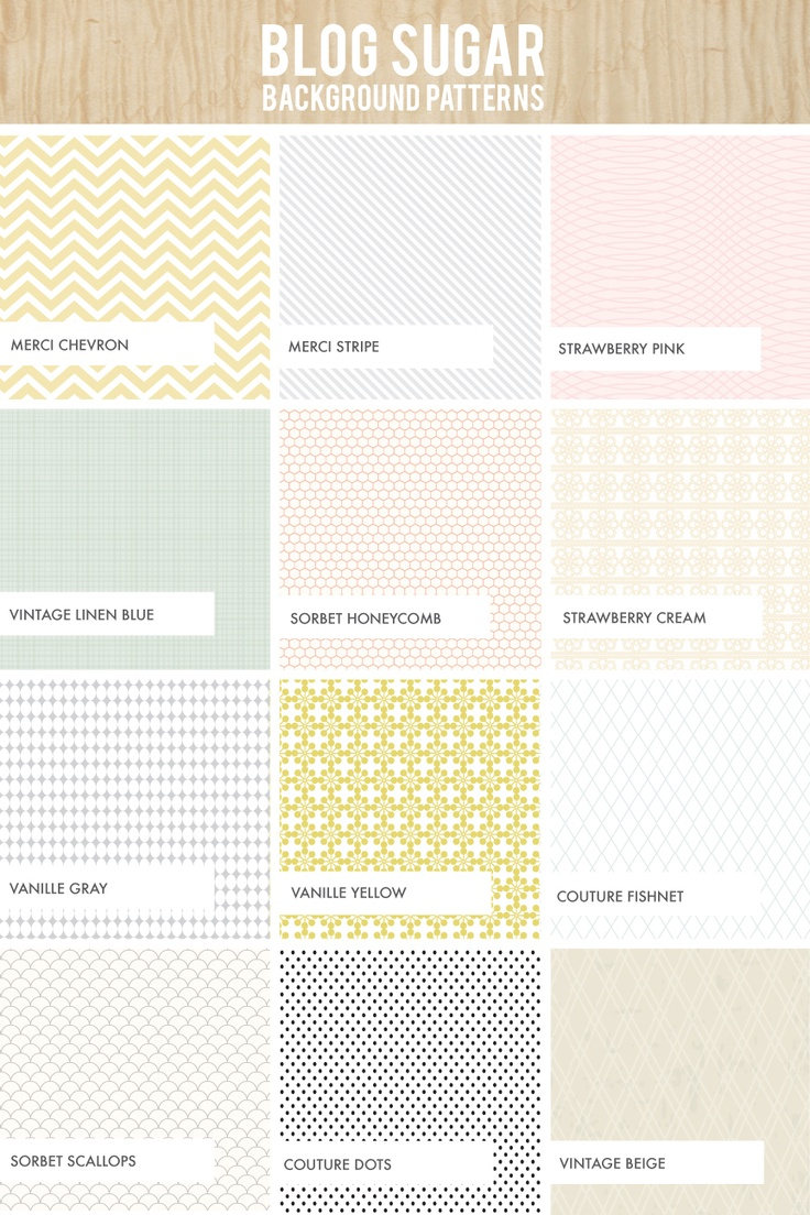 Blog Sugar Patterns | Dear Miss Modern