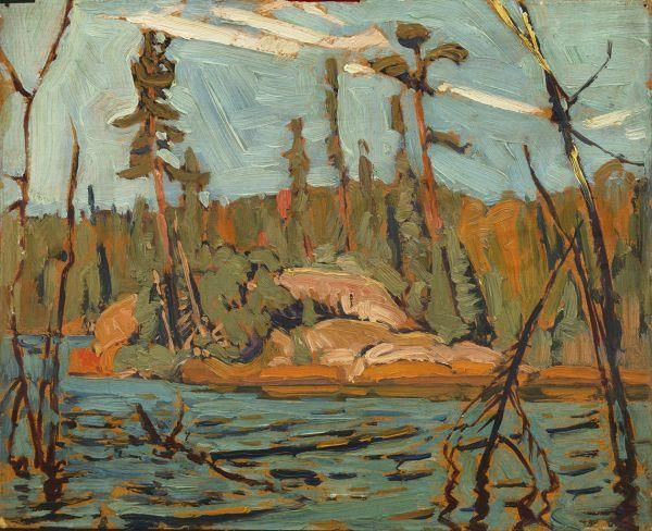 J.E.H. MacDonald Nationality: Canadian Artist Dates: 1873 - 1932 Gender: male Title: Moose Lake, Algoma Object Dates: 1920