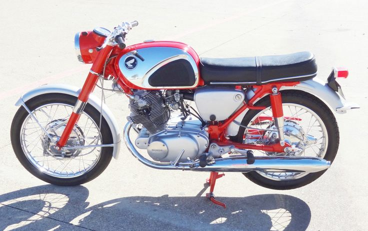 1963 Honda CB77 305 Superhawk | MotoFotoStudio