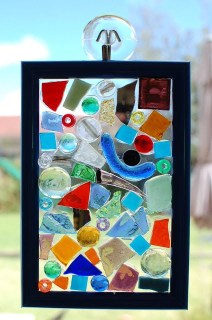 Sunnyside Art House: Mosaic Glass Suncatchers