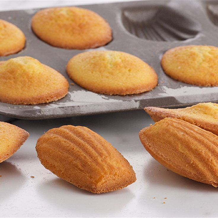 Try this Citrus Madelines recipe by Chef Anna Olson. This recipe is from the…