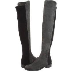 Stuart Weitzman - 5050 (Slate Suede) - Footwear #Women #shoes #boots #StuartWeitzman