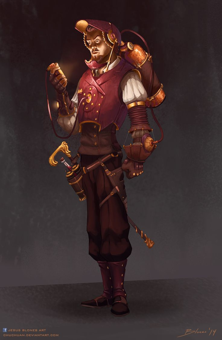 AVENGERS: Steampunk Iron Man by ChuchuaN