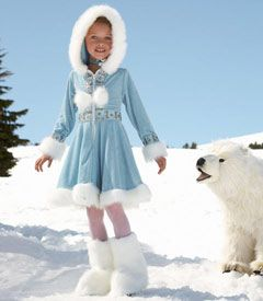 gorgeous eskimo costume...someday, I think Callie should be this!