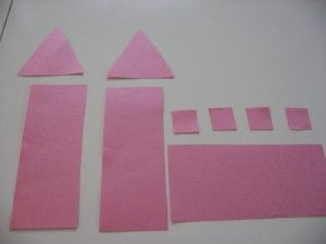MATH: use shapes to design a castle Could go with Paperbag Princess or any number of fairy tales.