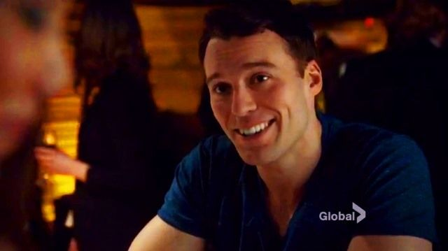 Rookie Blue - Nick Collins played by Peter Mooney