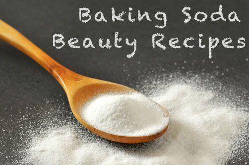 Baking Soda Beauty Recipes