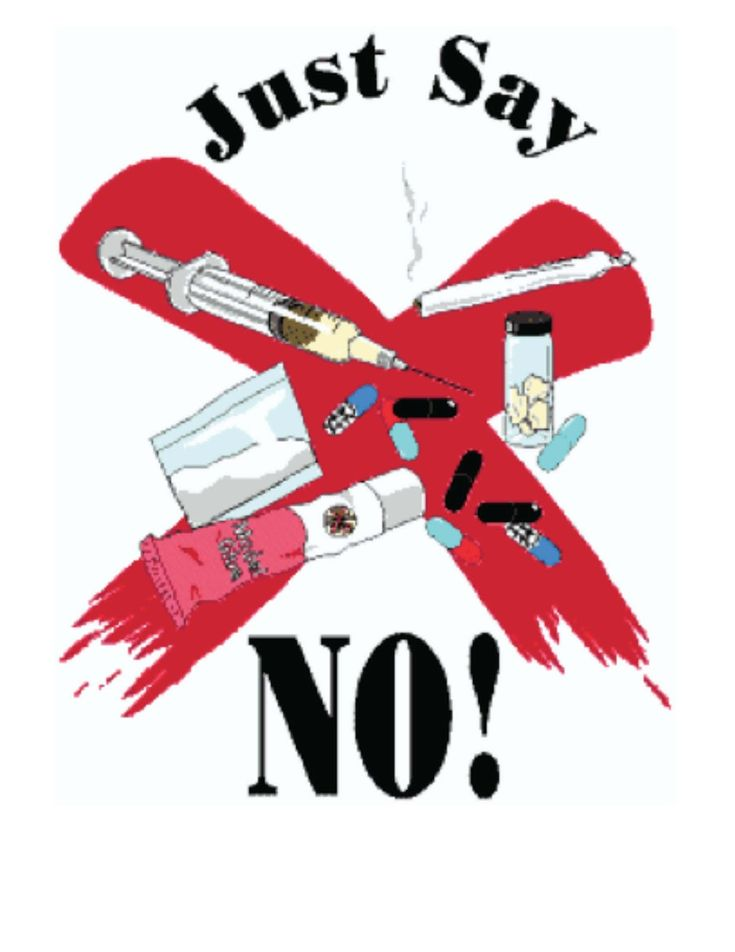 Classroom Freebies: Just Say No Poster