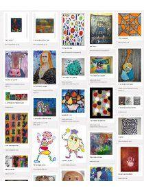 Librairie-Interactive - Banque d'idées pour les arts visuels