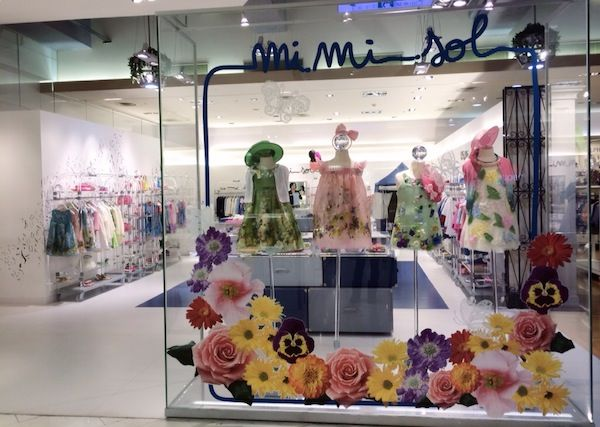 The MiMiSol Spring has come in Taiwan. Have a look to the beautiful MiMiSol shop-in-shop within MITSUKOSHI DEPT. STORE in Taipei!  #mimisol #fashion #luxury #children #kids #childrenswear #kidswear #baby #littlegirl #littleboy #clothing #fashion #Italia