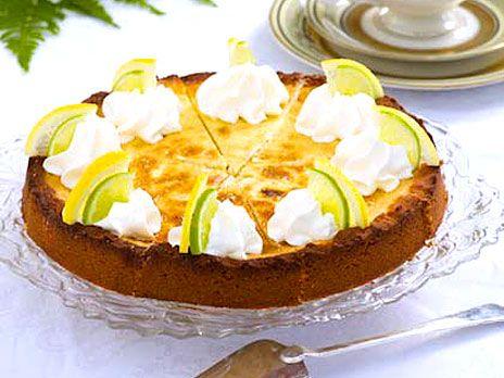 Citron- och limepaj