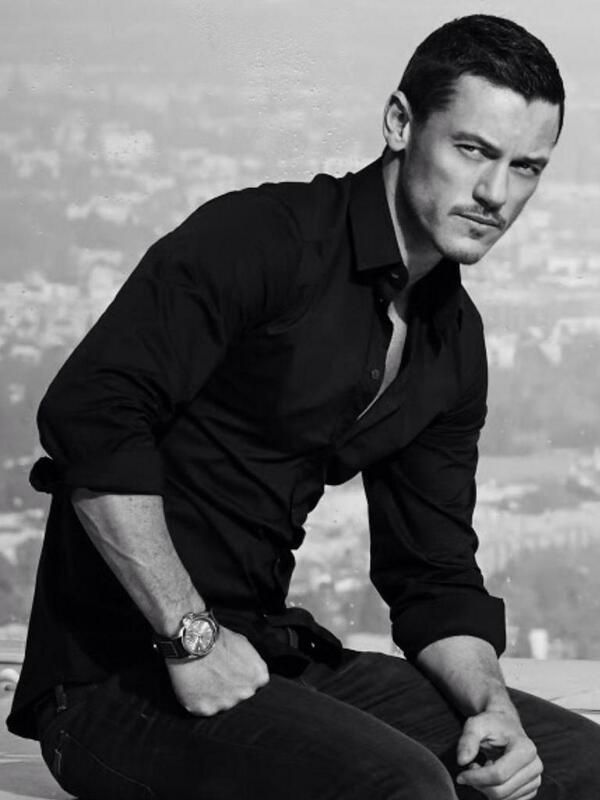 Luke Evans--would make a good Tristan Baudin (books one and two).