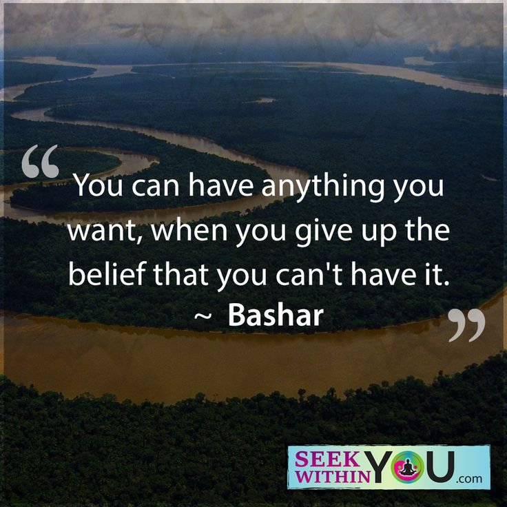 You can have anything you want, when you give up the belief that you can't have it. That's true! You can have anything you want. The work is to convince your mind, conscious and subconscious, that it is possible. You have been raised and even experienced for yourself the opposite of this belief. That is because you did not know that you were the creator of your reality. When you embrace the fact that you are, then you can begin the process of erasing years of disbelief and embracing the…