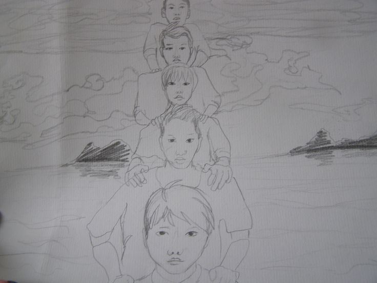 drawing by Keylee 181. Just bored :D . Please don´t share or repost it without permission