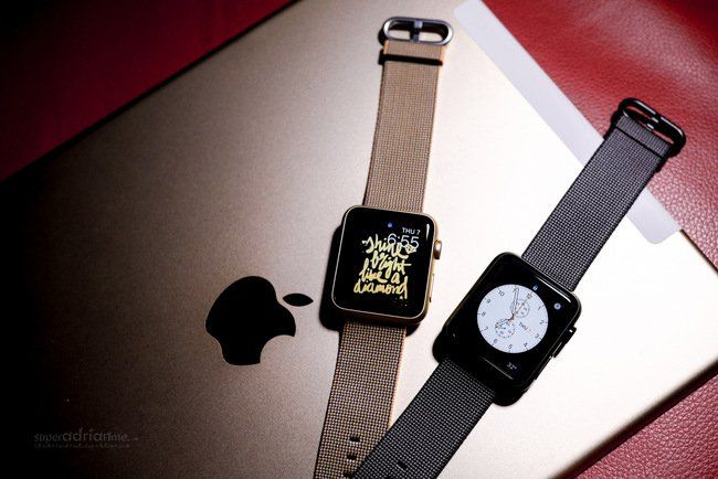 Apple Watch Spring Collection - Hermes Nylon Strap Band Singapore Price