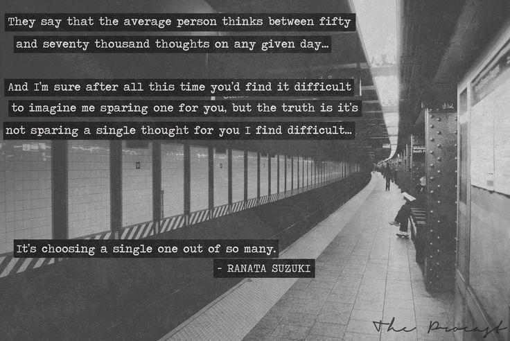 1000+ Images About Ranata Suzuki Quotes On Pinterest