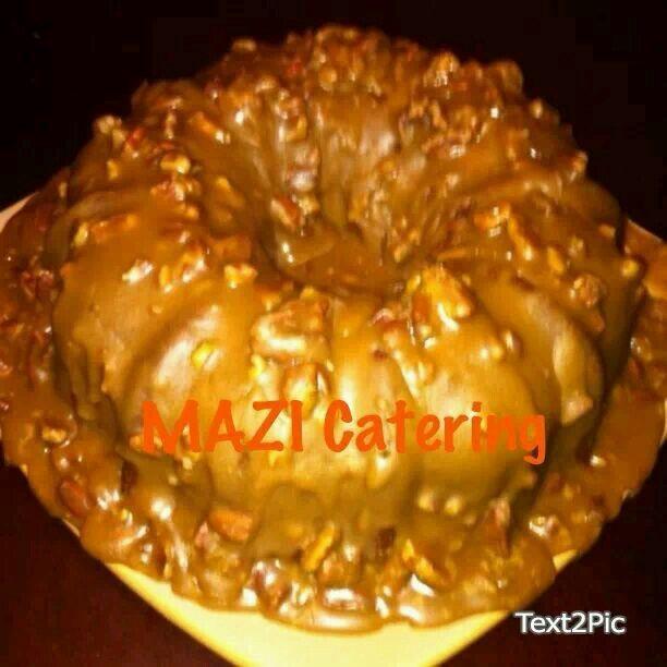 Southern Pecan Pie Pound Cake