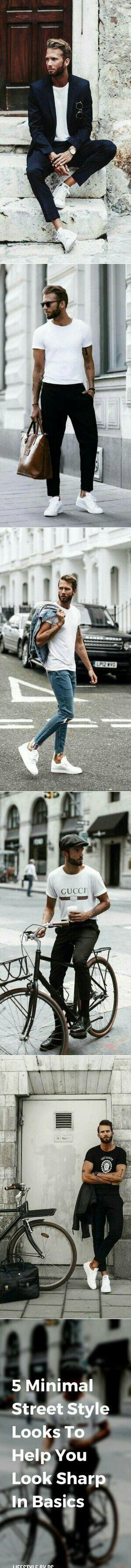 Awesome Minimal Street Style Inspiration. #mens #fashion