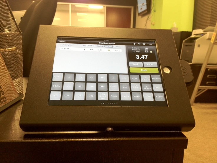 "If you're concerned about the security of an iPad cash register, you should worry no longer. This Enclosure is safe, stable, secure and made of the best aircraft-grade aluminum that is ""radio transparant"" so there is no interference with WiFi, 3G or Bluetooth connectivity. http://www.ipadsimple.com"