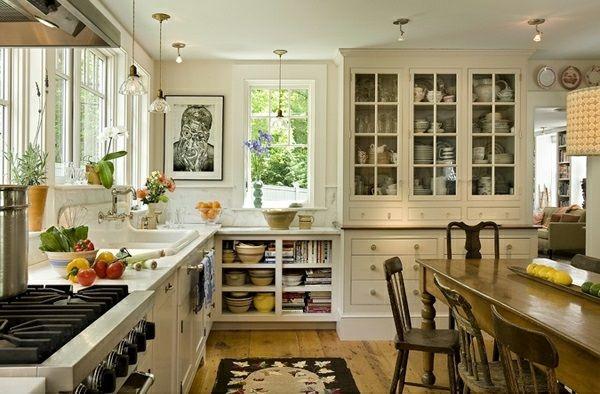 Traditionelle weiße Landhausküche – 15 coole Wohnideen