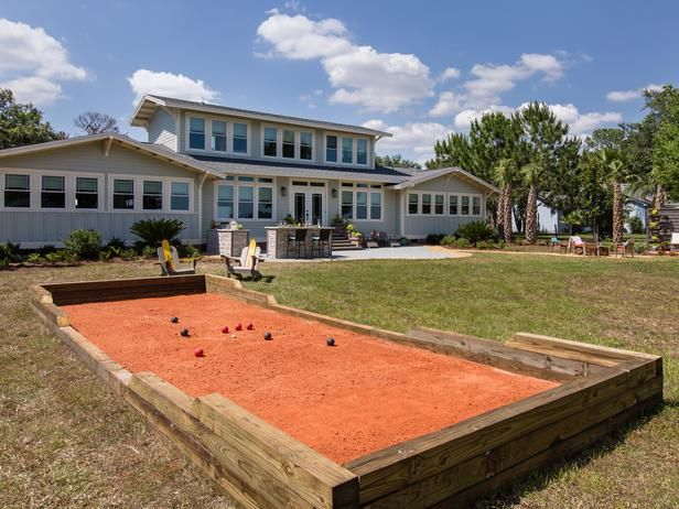 How To Build a Bocce Ball Court :  From DIYNetwork.com from DIYnetwork.com